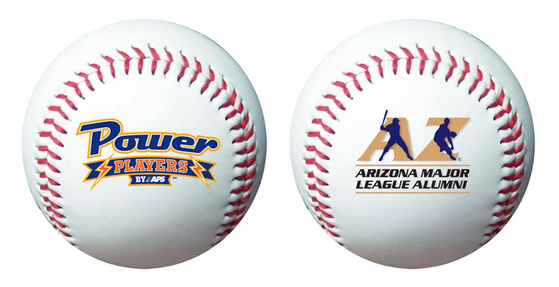Customized baseballs for sale. The minimum order is 100 baseballs. The price includes a one-color imprint on one side.