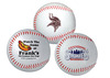 Promotional baseball examples.