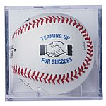 Acrylic Baseball Display Cube for displaying your printed baseball.