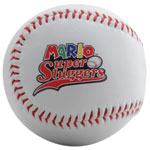 Playable Promotional Synthetic Baseball with printed logo.