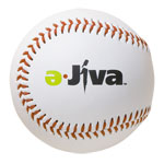 Synthetic Leaether Promotional Baseball with your logo printed onto the side of each baseball.