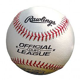 Rawlings Official League Baseball for sale with custom logo imprint.
