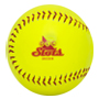 Click to see the larger image of the promotional softball.