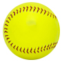 Click to see the larger image of this blank promotional softball.